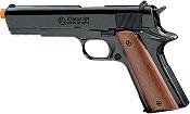 Front Firing 1911 9MMPA Blank Firing Gun-Black