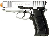 Front Firing Sava 9MMPA Blank Gun Chrome