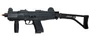 Front Firing 9MMPA UZI Full Auto Blank Gun With Stock