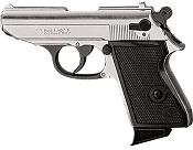 Kimar Lady K 8MM Semi-Auto Blank Firing Pistol - Nickel