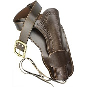 Old West Single Leather Holster