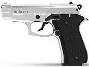 Retay 84 FS Front Firing 9MMPA Blank firing gun Nickel