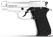 Retay 84 FS Front Firing 9MMPA Blank firing gun Chrome