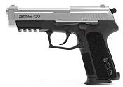 Retay S22 Front Firing 9MMPA Blank firing gun Nickel