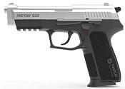 Retay S22 Front Firing 9MMPA Blank firing gun Chrome