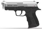 Retay XPRO Front Firing 9MMPA Blank firing gun Nickel