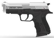 Retay XPRO Front Firing 9MMPA Blank firing gun Chrome