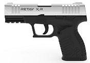 Retay XR Front Firing 9MMPA Blank firing gun Nickel