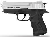 Retay XTREME Front Firing 9MMPA Blank firing gun Nickel
