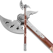 Classic Medieval Replica Battle Axe