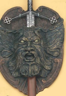 Sword Display Plaque.
