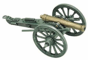 Miniature Civil War Cannon