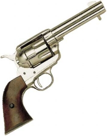 1873 Western Peacemaker Pistol-Nickel