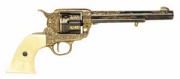 Western Calvary Gold Engraved Peacemaker